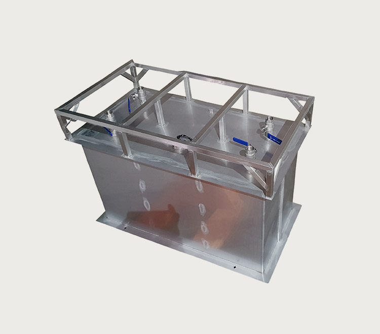 UN Approved, Stainless Steel Fuel IBC